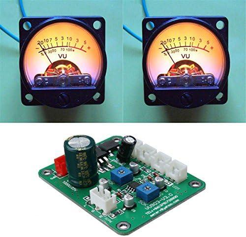 ILS - 2 Piezas VU precalentar el medidor de luz de Fondo grabación ...