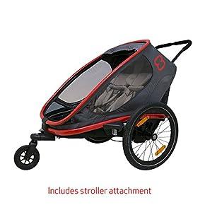 Hamax Outback Multi-Sport Child Bike Trailer + Stroller +Jogger