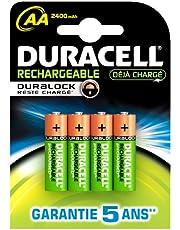 Duracell Pre Charged oplaadbare AA-batterijen 2400 mAh – 4 stuks (uitloopmodel)