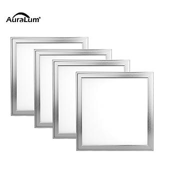 9cm 18w Chaud Design Auralum 4pcs Dalle Blanc Smd Led Mince 30x30x0 eCBdxoQrWE