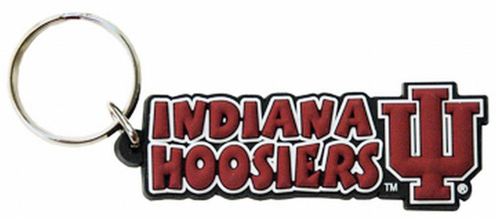 NCAA Indiana Hoosiers Festive PVC Keychain