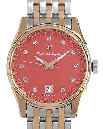 TONINO LAMBORGHINI EN035D.504 Swiss Movement Diamond I1-I2 Men Watch