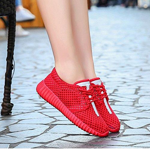 de Verano Rojo Planos Cinco Malla Colores Mujer Zapatos de Nan Hay Elegir Desodorante de de Zapatos Para xCtwq1RY