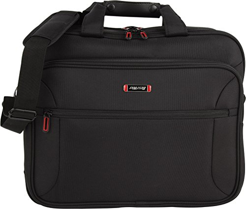 fabrizio Best Way Office-Pro Aktentasche mit Laptopfach 15 Zoll 0100 schwarz