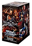 Attack On Titan! Weiss Schwarz ENGLISH EDITION Weiss Weib Booster Box - 20 packs / 8 cards by Weiss Schwarz