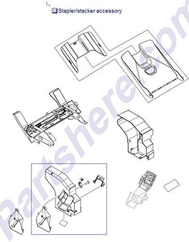 500 Sheet Stacker (HP Q5691-60501 500 sheet stapler/stacker assembly for LaserJet 4345 and 4370MFP)