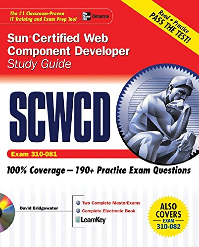 Sun Certified Web Component Developer Study Guide (Exams 310-081 & 310-082) (Oracle Press) (Oracle Certified Web Component Developer Study Guide)