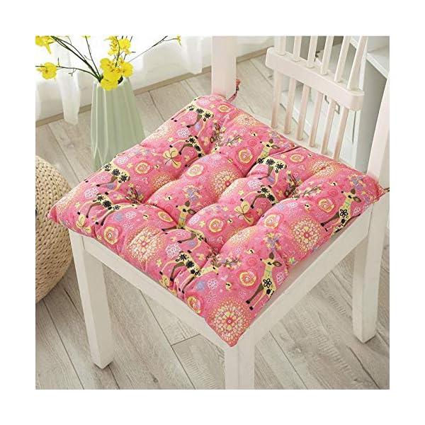 Dylandy - 1 x cuscino per sedia, per esterni, giardino, patio, casa, colore: rosa, 50 x 50 cm 3 spesavip