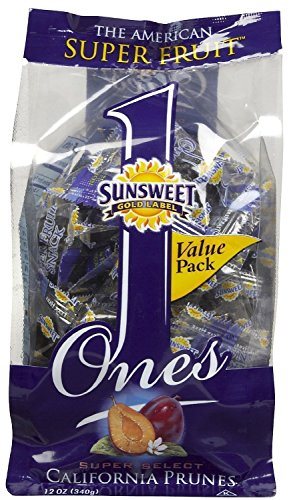 Sunsweet Ones California Prunes, 12 Ounce (Pack of 3) ()