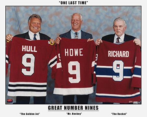 Three Great Nines: Maurice Richard, Gordie Howe & Bobby Hull