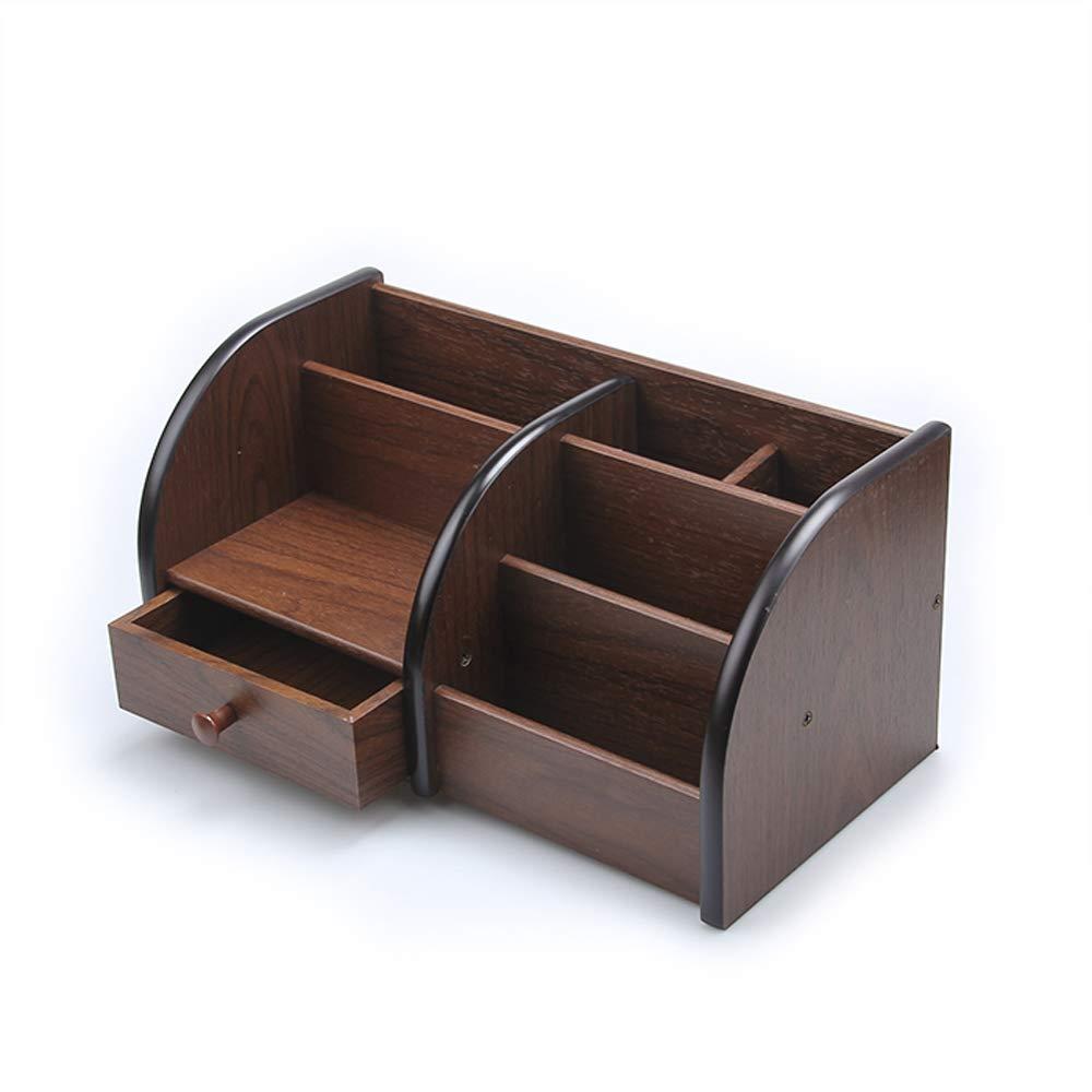 GaoJinZhuan Holz Stifthalter Kreative Mode multifunktions Desktop Aufbewahrungsbox Büro Dekoration Kombination Stifthalter Nette Schreibwaren Kreative Retro Holzmaserung (größe   C) B07M5PWXJV | Meistverkaufte weltweit