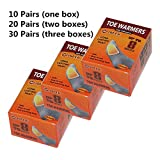 Adhesive Toe Warmers with Air Activated Heating 8 Hours - 30 Pairs
