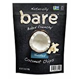 Bare Natural Coconut Chips, Toasted, Gluten Free Jumbo Bag, 10.5 ounces (298g)