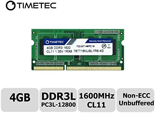 NEW 4GB Memory PC3-12800 DDR3-1600MHz SODIMM For Acer Aspire Notebook ES1-111M