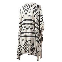 2014 New Fashion Batwing Button Half Sleeve Woolen Knitting Sweater Vintage Spring Autumn Cape Women Winter Cardigan