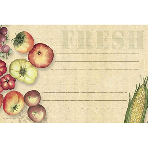 Lang Fresh From The Farm Recipe Card by Susan Winget, 4