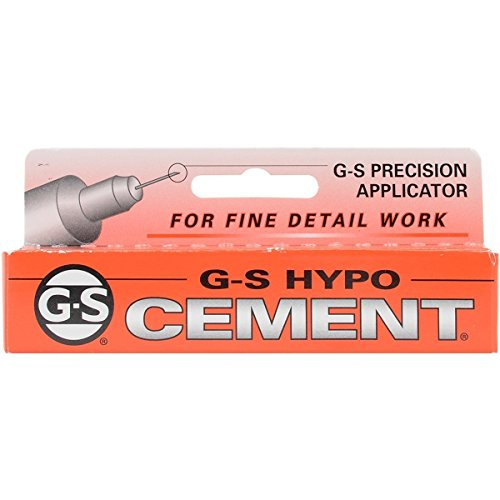 Cement Glue Hypo (G S Hypo Cement - 5 Pack)