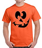 Raw T-Shirt's Goofy Pumpkin Face - Funny Halloween Premium Men's T-Shirt