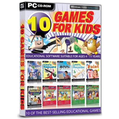 10 Games for Kids (PC CD)