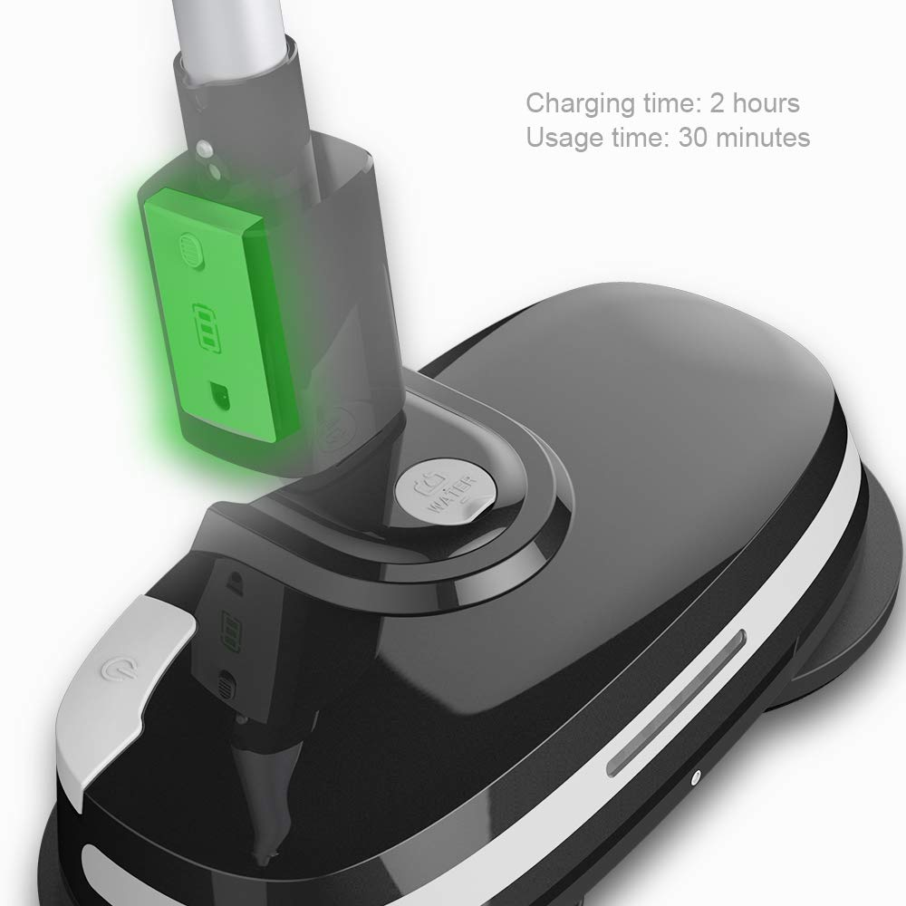 Electric Mops for Floor Cleaning -Mamibot Mopa580 Power Fresh 3-in-1 Multifunctional Cordless Electric Polisher waxer mop for All Flat Hard Floor Cleaning Marble Tile with Adjustable Handle by Mamibot (Image #6)