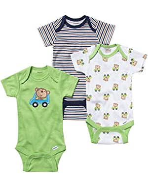 Unisex- Baby 3 Pack Onesies - Neutral
