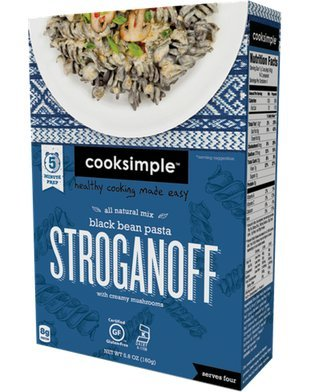 cooksimple-all-natural-mix-black-bean-pasta-stroganoff-with-creamy-mushrooms