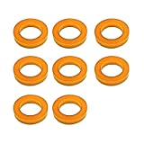 PinGuard Set of 8 Orange Nylon Leg and Bolt Protectors