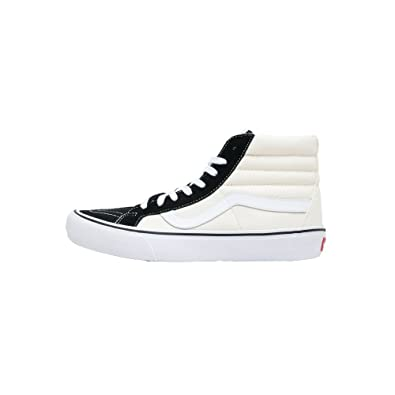 a13ba8dc590581 Image Unavailable. Image not available for. Color  VANS Sk8 Hi PRO Mens  Size 7.5 (50th)  87 Black Classic White Skateboarding
