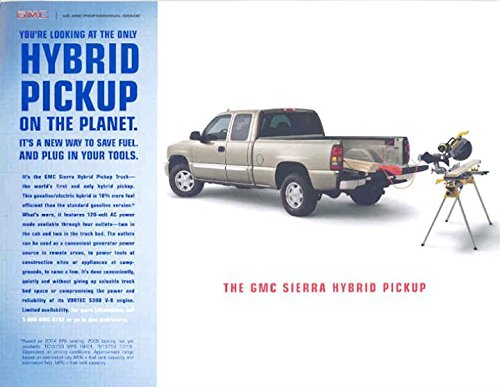 2004-2005-gmc-sierra-hybrid-gas-electric-pickup-brochure