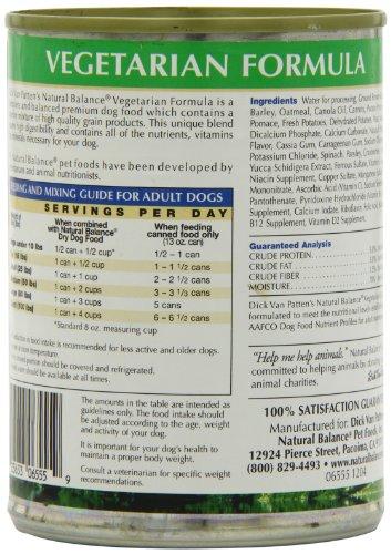 Natural Balance Vegetarian Dog Food Reviews