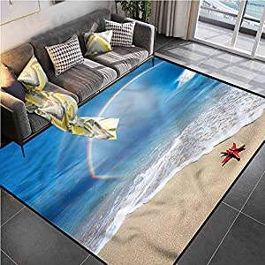 51LKtqnZS1L._SS300_ Starfish Area Rugs For Sale