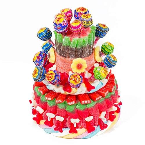 Regalo tarta chuches chupachups cumpleaños: Amazon.es: Handmade