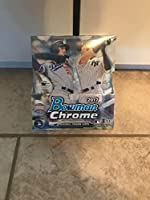 2017 Bowman Chrome Baseball Hobby Box 12 Packs of 5 Cards; 2 Autographs/Box More Great Inserts Great Inserts …