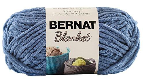 Bernat Blanket Yarn, 10.5 Ounce, Country Blue, Single (Blanket Yarn)