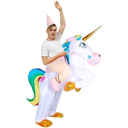 XXLLQ Disfraz Inflable De Unicornio Traje De Cosplay Fiesta para ...