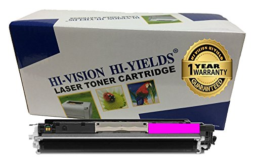 HI-VISION HI-YIELDS ® Compatible Toner Cartridge Replacement for Hewlett-Packard (HP) 126A CE313A (Magenta)