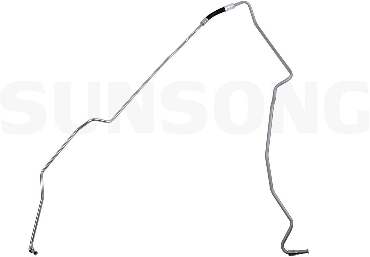 Auto Trans Oil Cooler Hose Assembly Lower Front Sunsong North America 5801047