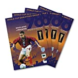 1998 England vs Moldova WC Qualifier Official Match Program - 52 Pages