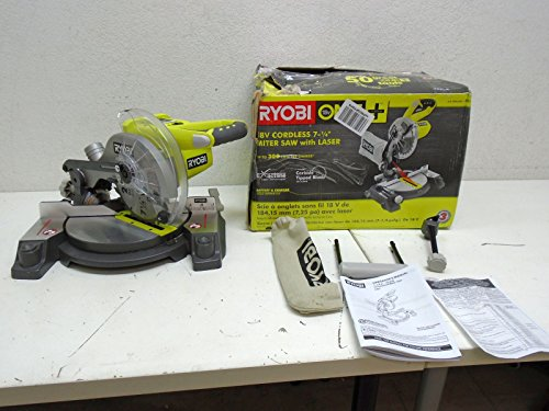 Best Price Ryobi 18-Volt ONE+ 7-1/4 in. Cordless Miter Saw - P551 (Tool Only)