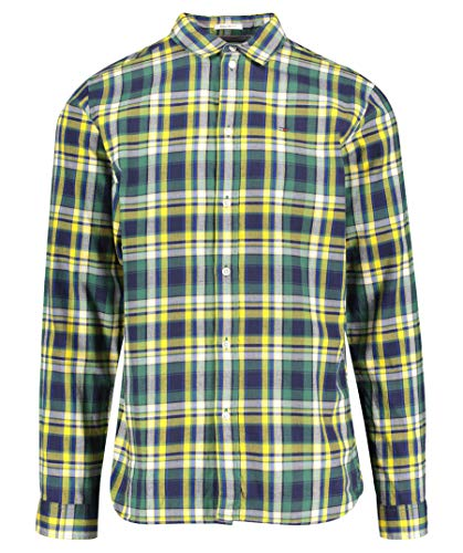 Tjm Essential Camisa Tommy Jeans Spectra Verde 4qanwg