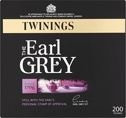 Twinings Earl Grey 200 Btl. 500g - Schwarzer Tee der Premiumklasse