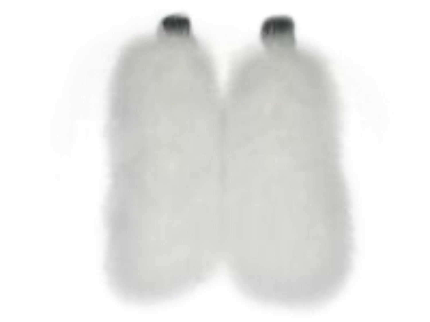 Ivory Fox Cuffs w/Velcro Closure by FursNewYork
