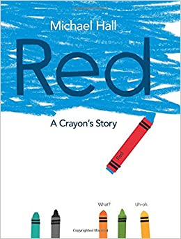 Image result for red crayon book