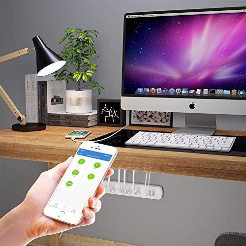 Kmc 5 Outlet Wi Fi Surge Protector Power Strip Smart Plug