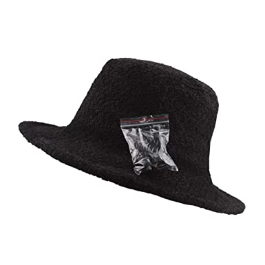 61130d41 KUDICO Women Retro Bucket Hats Clearance Solid Color Literary Casual Caps  Packable Fluffy Woolen Suede Fisherman Hats(Black ): Amazon.co.uk: Clothing