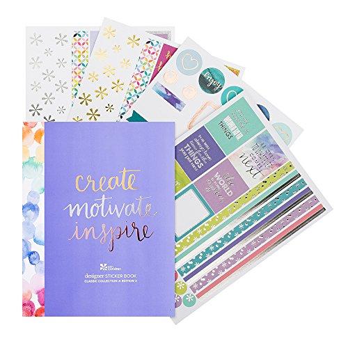 Erin Condren Sticker Book, Classic Edition 2, Multicolor (ACC SBCLS2)