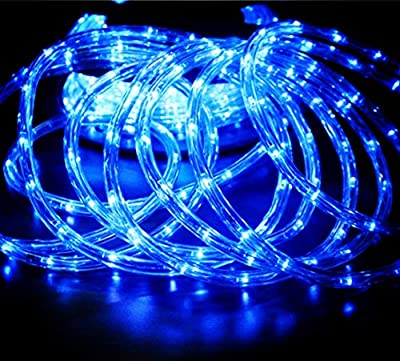 AMNA SHING LED Rope Lights, 120V Waterproof LED String Lights for Indoor, Outdoor, Backyards, Garden and Party Decoration