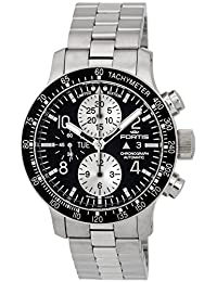 Limited Edition Fortis Stratoliner Chronograph Automatic Steel Mens Watch Day Date 665.10.71.M