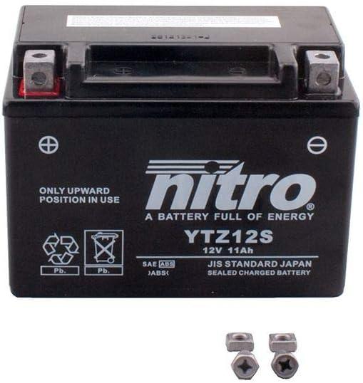 Batterie 12 V 11 Ah YTZ12S Gel Nitro TMax 530 SJ14 17-18