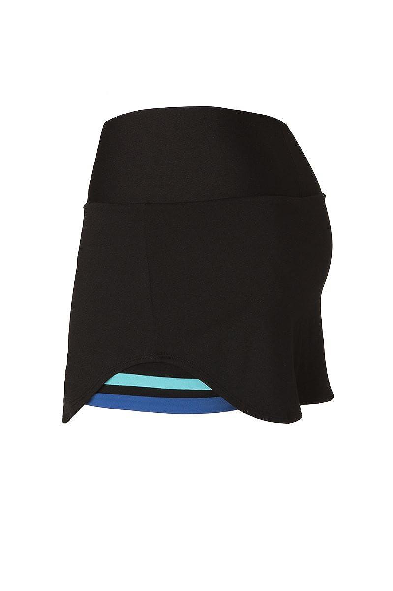 Naffta Tenis Padel - Falda-Short para Mujer, Color Negro ...